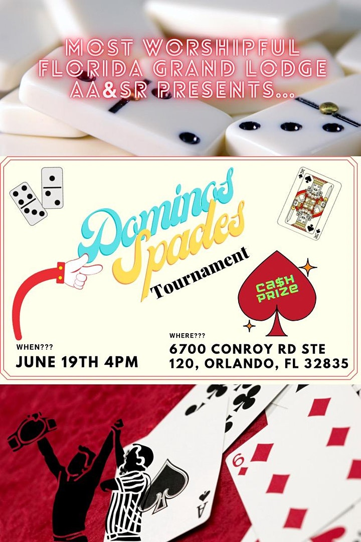 Dominoes and Spades Tournament image