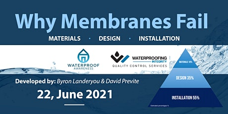 Why Membranes Fail, June 22 tickets