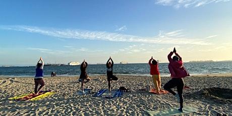 Monday Beach Yoga with Chigusa! tickets