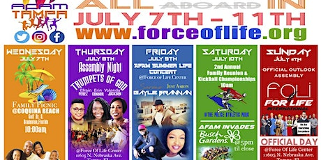 AFAM Convention 2021 - Tampa FL tickets