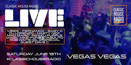 Classic House Radio Live 3 Yr Anniversary Party tickets