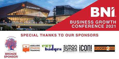 2021 Business Growth Conference - hosted by BNI Australia tickets