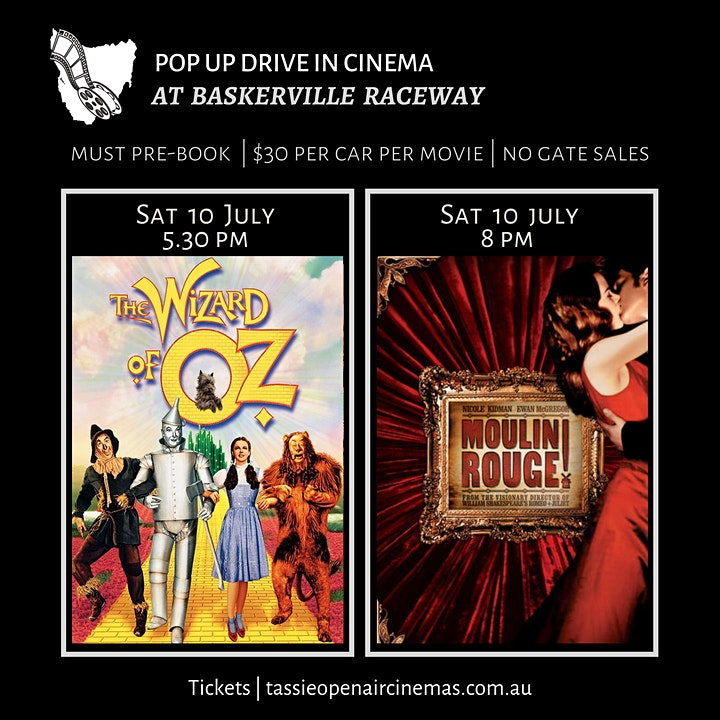 POP UP DRIVE IN   THE WIZARD OF OZ (G) (1939)   Sat, 10 July   5.30pm image