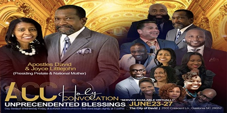 Apostolic Covering Connections Holy Convocation 2021 tickets