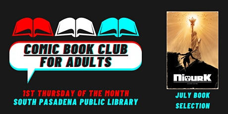 Comic Book Club for Adults - July 1, 2021 Meeting biglietti