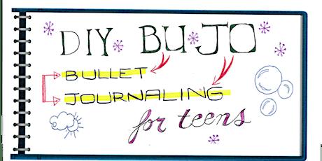 Teen DIY Back to School BuJo tickets