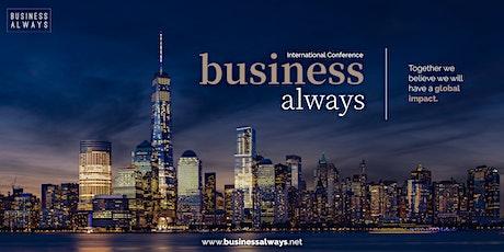 Business Always International Conference bilhetes