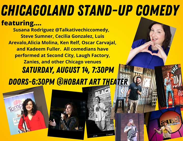 Chicagoland Stand-Up Comedy Show image