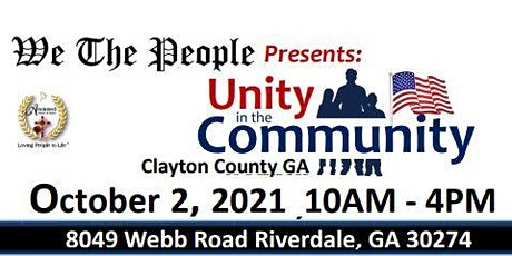 Unity in the Community tickets
