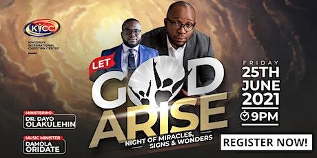 Let God Arise tickets