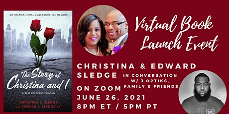 The Story of Christina and I  Virtual Book Launch Tickets