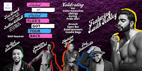 Tucked or Packed, FLUX's Got Your Back Brunch tickets