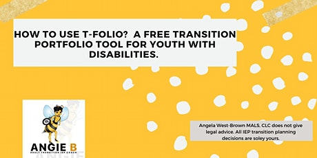 How to use T-Folio?  A Free Transition Planning Tool tickets