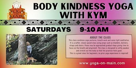 Body Kindness Yoga with Kym tickets
