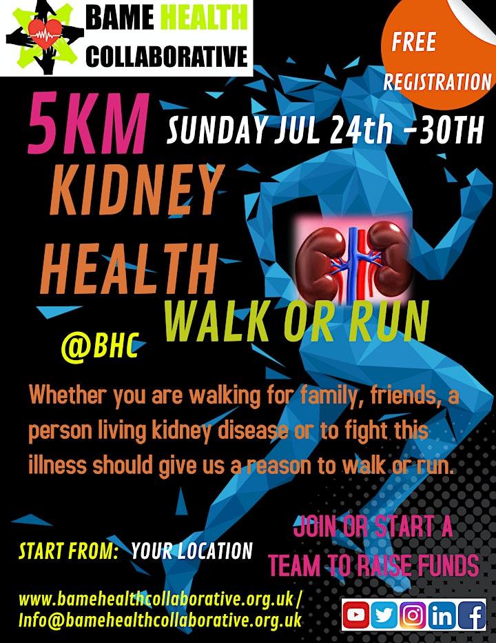 5KM Kidney Health WALK/RUN image