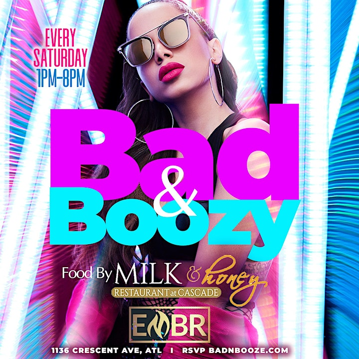 Bad & Boozy Brunch & Day Party Saturday @ Embr Lounge image