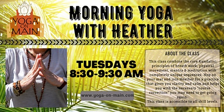 Morning Yoga with Heather tickets