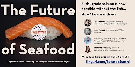 Future of Seafood with Wildtype tickets