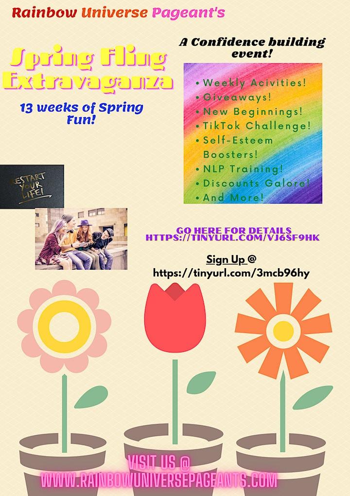 Spring Fling Confidence Building Extravaganza image