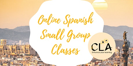 Online Spanish Small Group Classes tickets
