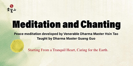 Meditation and Chanting tickets