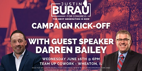 Justin's Campaign Kick Off With Darren Bailey tickets