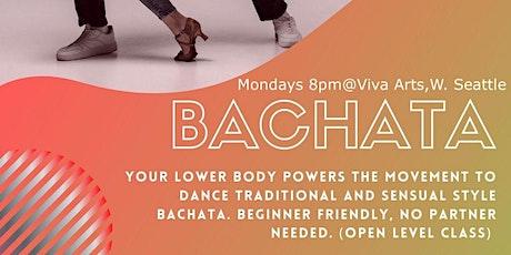 Bachata Bliss Mondays 8pm ( JUNE 14 start) tickets
