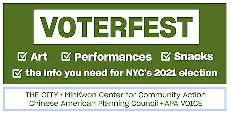 Voterfest: Flushing (Queens) tickets
