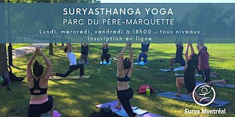Yoga au Parc du Père-Marquette, sur contribution volontaire tickets