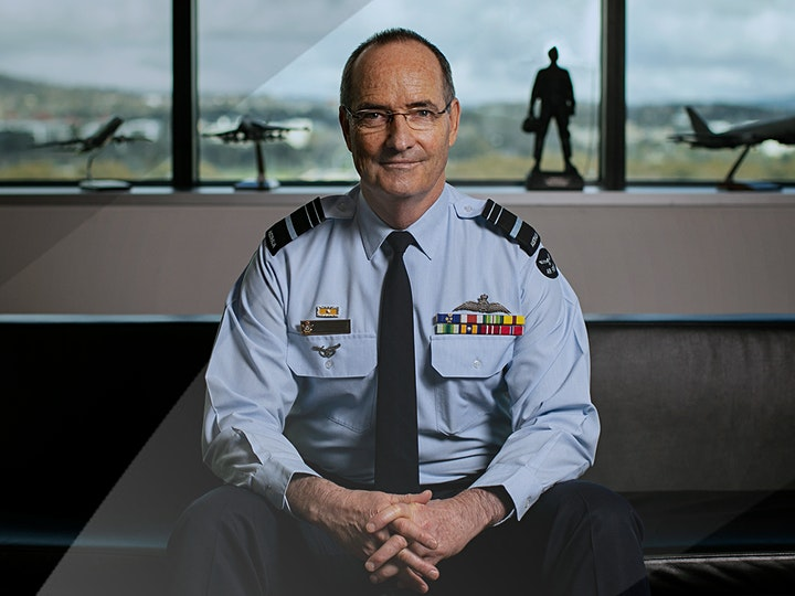 CHIEF OF AIR FORCE HUNTER BRIEFING image