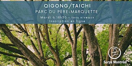 QiGong/TaiChi Parc du Père Marquette, sur contribution volontaire tickets