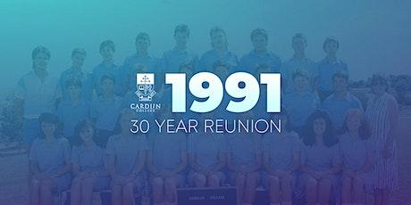 Cardijn College Class of 1991 Thirty Year Reunion tickets