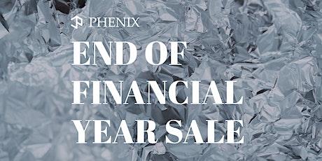 Phenix Jewellery - End of Financial Year Sale tickets