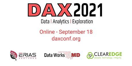 DAX 2021: Data | Analytics | Exploration tickets