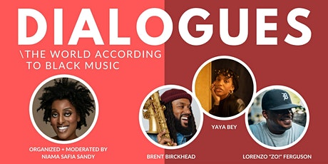 TNP Dialogues: The World According to Black Music tickets