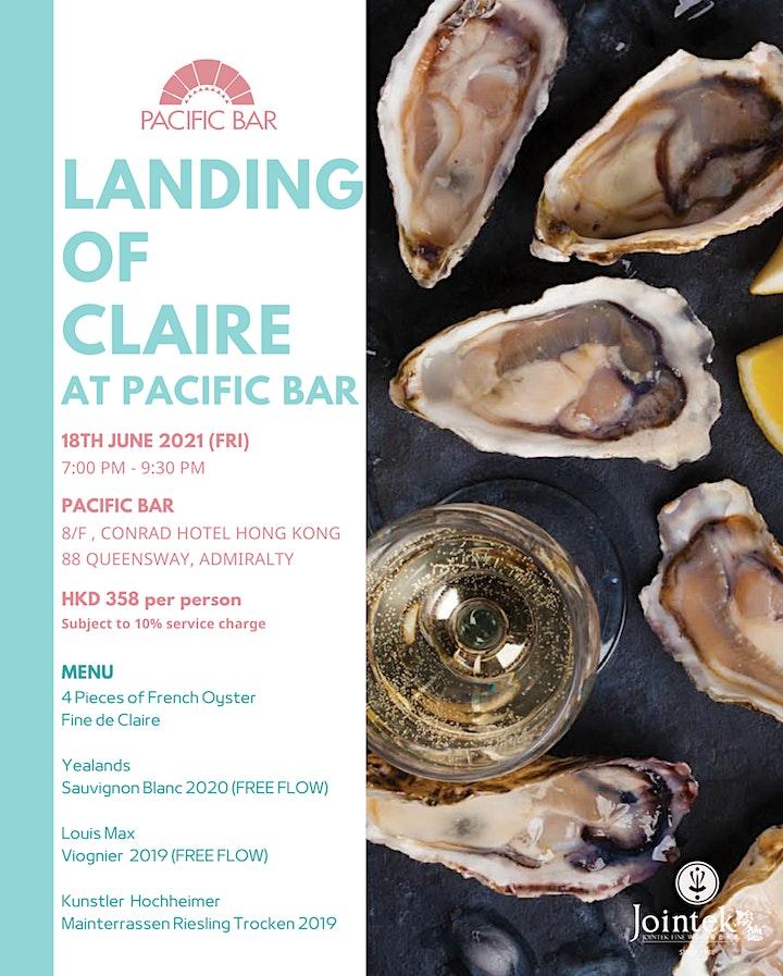 Landing of Claire  Pacific Bar, Conrad Hong Kong image