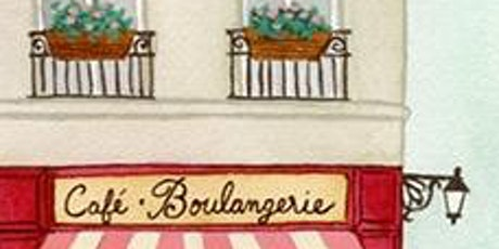 French Cafe - watercolor painting workshop tickets