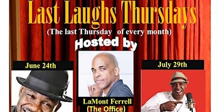 Last Laughs Thursdays Comedy Show tickets