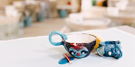 SCHOOL HOLIDAYS Kids Pottery Workshop (Ages 8+) HAND BUILDING tickets