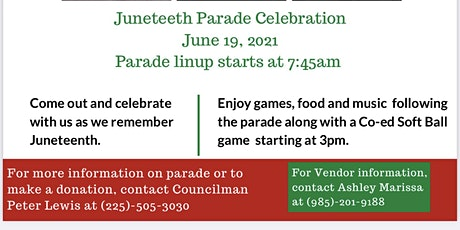 """Juneteenth 2021 """"Together We Stand"""" tickets"""