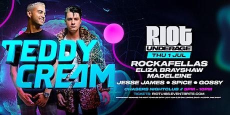 Riot Underage  • Thursday July 1st 2021 tickets