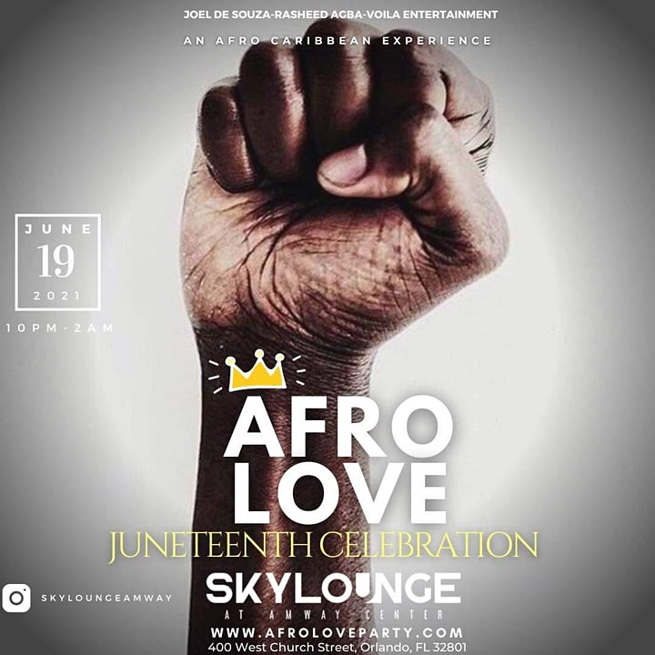 AFRO LOVE: An Afro-Caribbean Experience (Juneteenth Edition) image