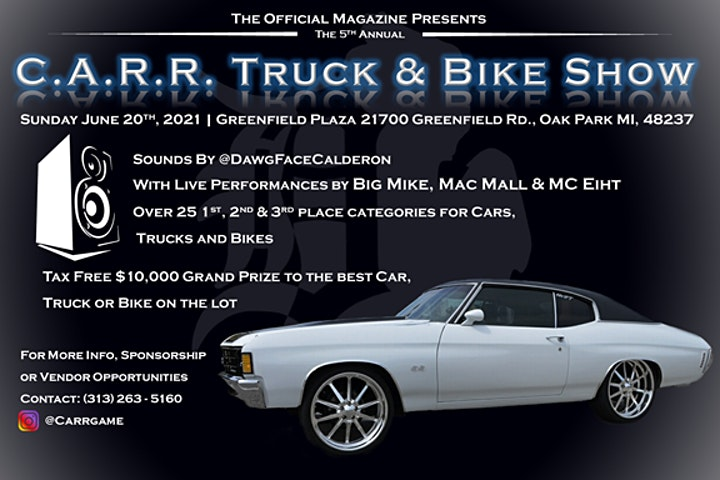 The Offical Car Truck & Bike Show & I miss the 90' Concert Series image