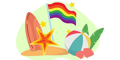 Celebrate Pride with Beach Games with Sober Community! tickets