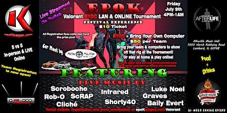 epoK Valorant Tournament BYOC tickets