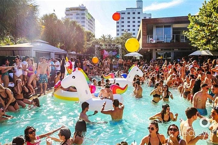 Most Craziest Pool Party/NightClub Package in Miami image