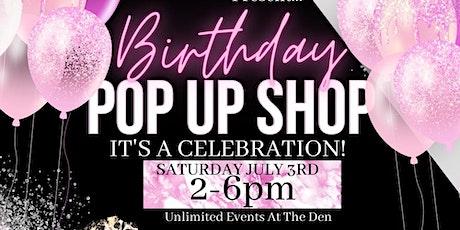 The Birthday Pop-Up Shop tickets