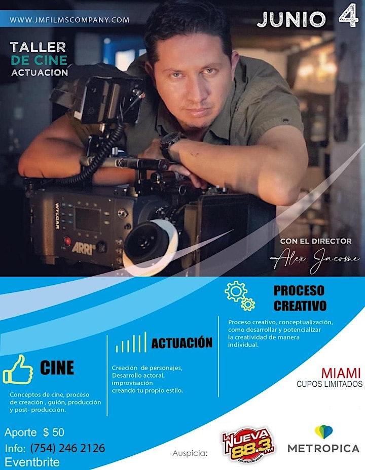 TALLER DE CINE Y ACTUACION - MASTER CLASS image