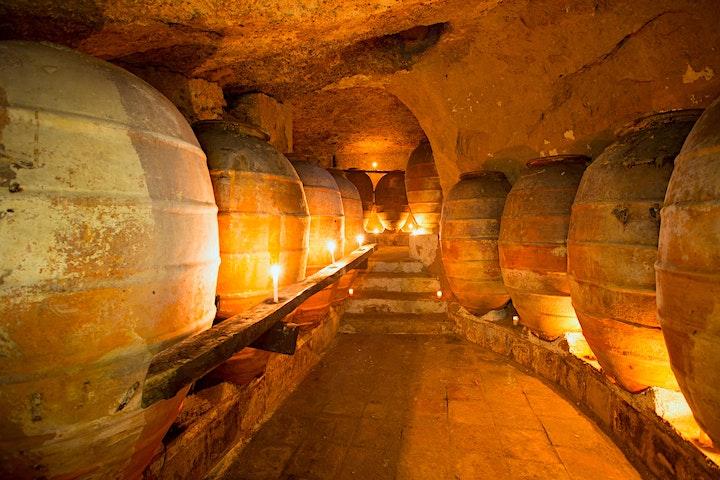 The Art of Wine: Amphora Ceramic image