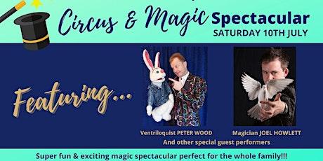 Circus & Magic Spectacular tickets